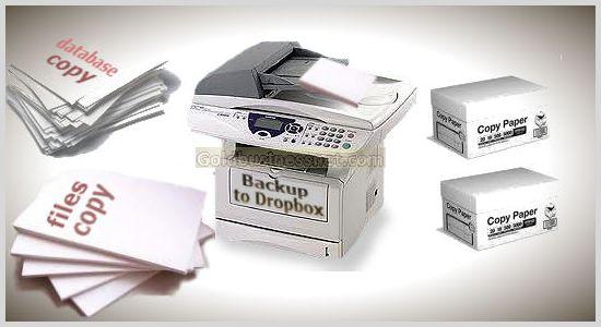 Бэкап сайта с помощью плагина Backup to Dropbox