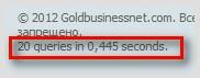 Количество запросов MySql страницы блога