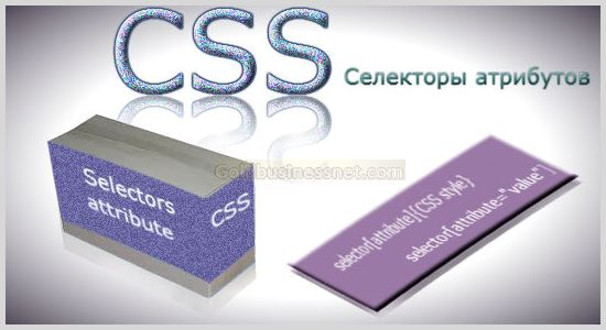 CSS селекторы атрибутов и их разновидности