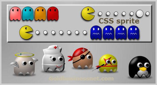 Объединение небольших изображений сайта в CSS спрайты