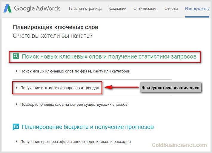 Анализ ключевых слов гугл адвордс контекстная реклама вид носителя