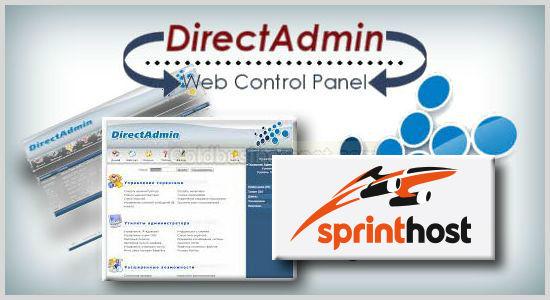 Панель управления хостингом DirectAdmin