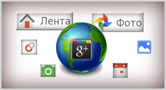 Социальная сеть Гугл плюс