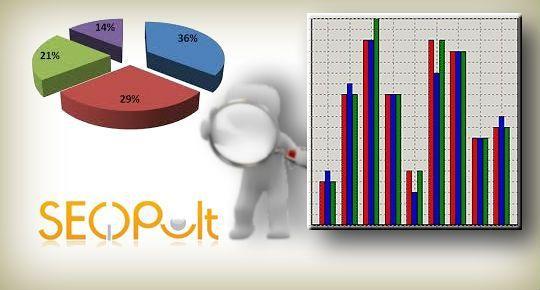 Сравнение с конкурентами в SEOPult
