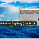 wordpress-fixed-menu