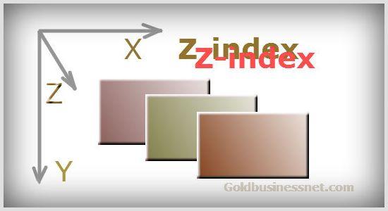 Свойство z-index в CSS