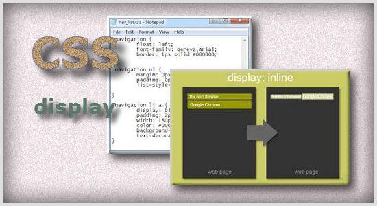 Правило CSS display