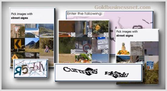 CAPTCHA - тест на распознание робота и человека