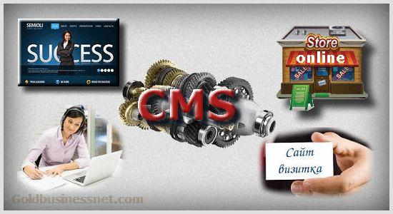 Платные и бесплатные CMS