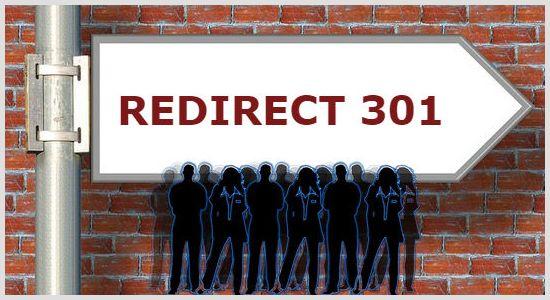 Redirect 301 через файл .htaccess