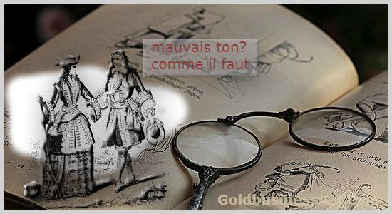 Значения слов моветон и комильфо