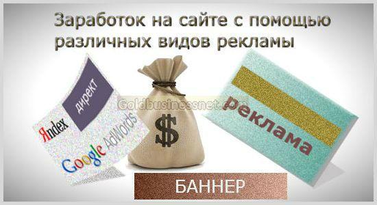 Монетизация сайта с помощью рекламы