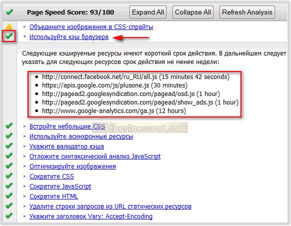 9b02549f2b86 ... поэтому при анализе этого блога в упомянутом чуть выше online сервисе  Pagespeed отразились опять же только внешние элементы, которые мне не  подвластны ...