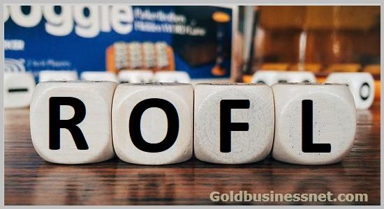 Что означают слова РОФЛ, рофлить и рофлер
