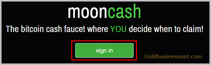 Вход на Moon Bitcoin Cash