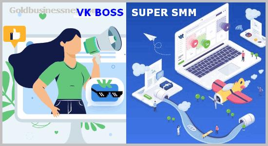 Сервисы VK Boss и Super SMM
