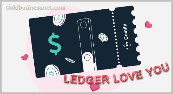 Спецпредложение Ledger ко Дню Валентина